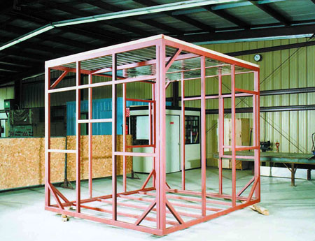 Steel Frame Shelters